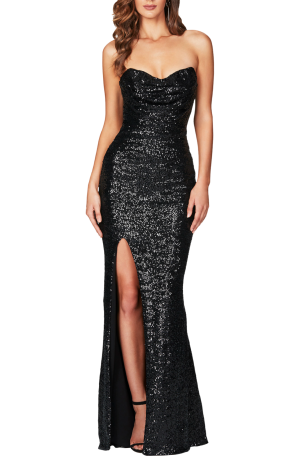 Valentina Gown – Black