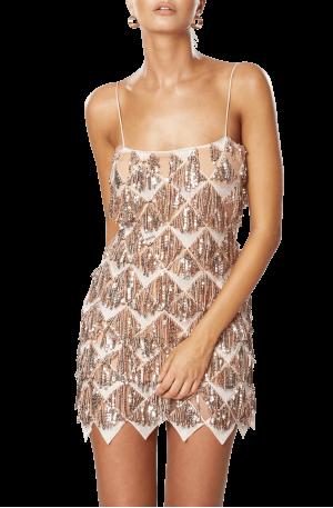 Verve Dress – Gold
