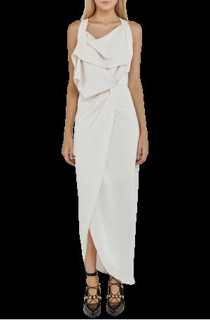 Wilshire Dress – Eggshell