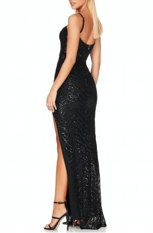 Zahara Gown – Black