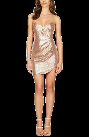 Adele Sequin Mini – Champagne