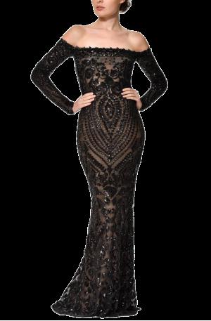 Arabella Gown - Black