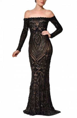 Arabella Gown - Black