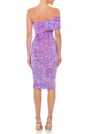 Alyssa Dress - Purple