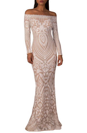 Arabella Gown - White