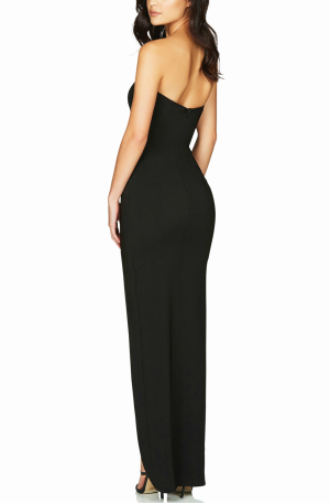 Bisous Gown – Black