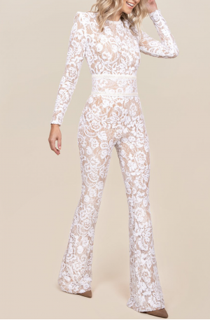 Bella Jumpsuit - White