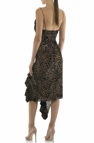 Emilia Leopard Slip Dress