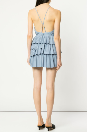 Finesse Dress – Blue