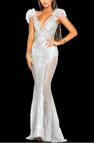 Fufu Gown – Silver