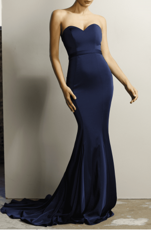 Fiona Dress – Navy
