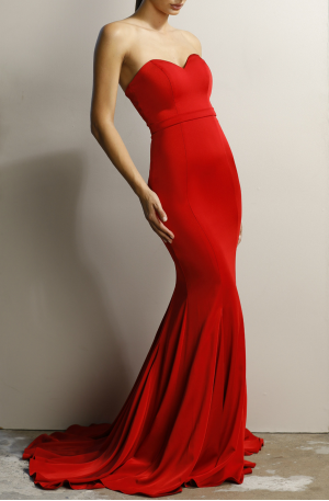 Fiona Dress – Red