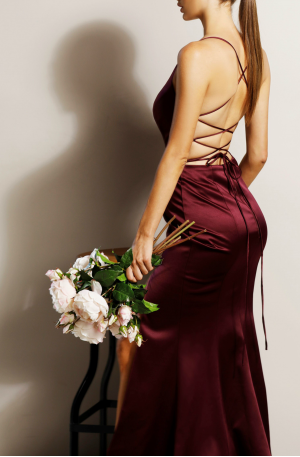 Georgia Gown – Berry