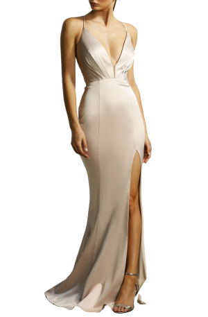 Georgia Gown – Nude