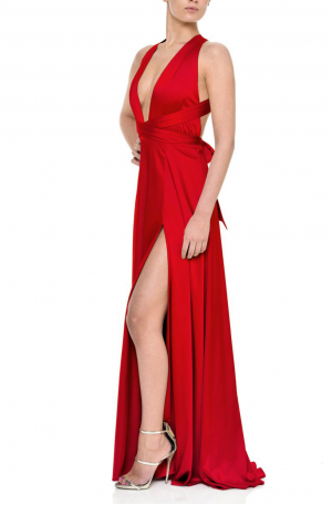 Gracie Gown – Red