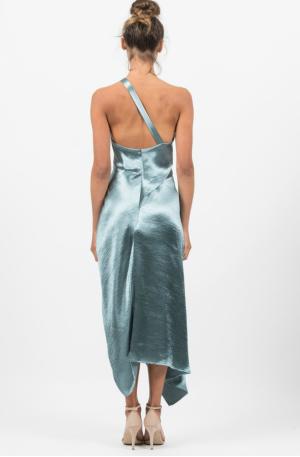 Harlequin Dress – Peacock