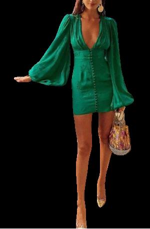 Isabella Dress – Green