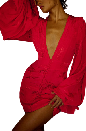 Isabella Dress – Red