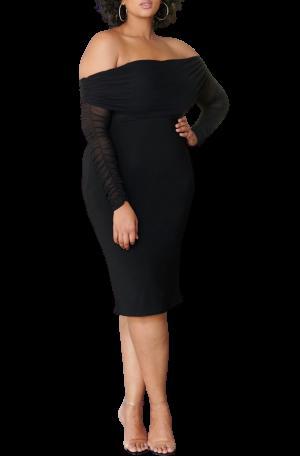 Kendall Mesh Dress