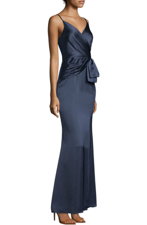 Light Satin Dress