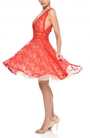 Lola Dress – Red
