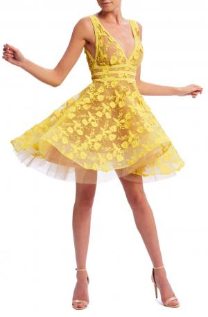 Lola Dress – Yellow