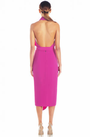 Lorena Dress – Fuchsia