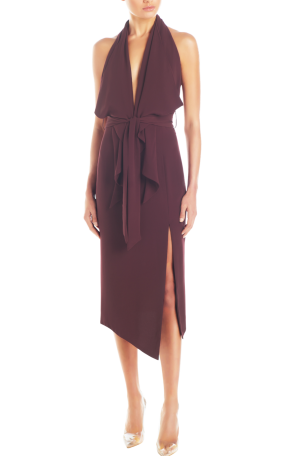 Lorena Dress – Plum