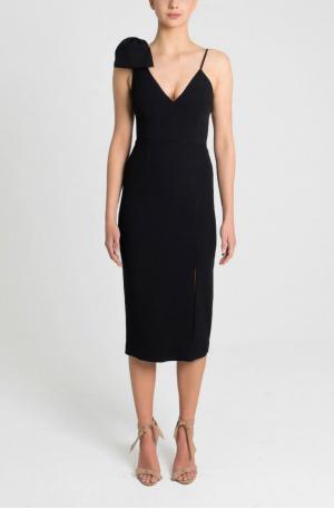 Love Bow Dress – Black