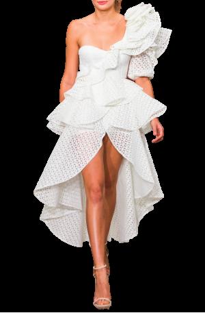 Marion Ruffle Dress