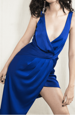 Nyrella Midi Dress – Cobalt