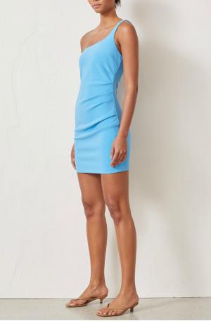 Paloma Mini Dress – Azure