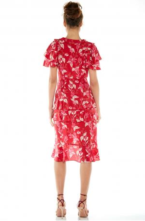 Pollen Midi Dress