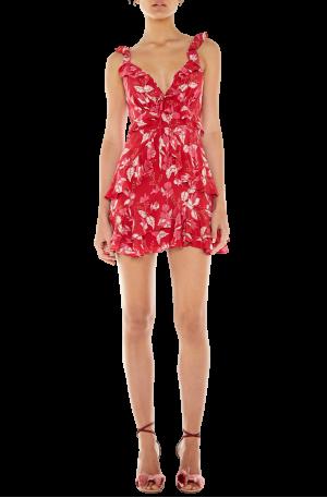 Pollen Mini Dress