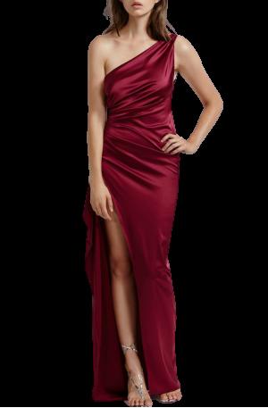 Samira Dress – Burgundy