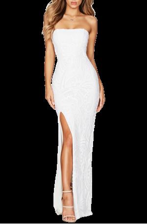 Sensation Gown – White