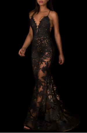 Stella Gown – Black