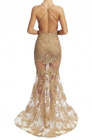 Stella Gown – Gold