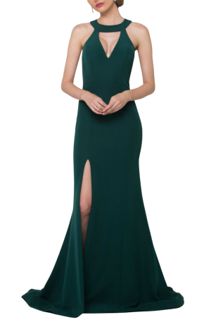 Taylor Gown – Emerald