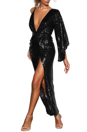 Tinley Gown – Black