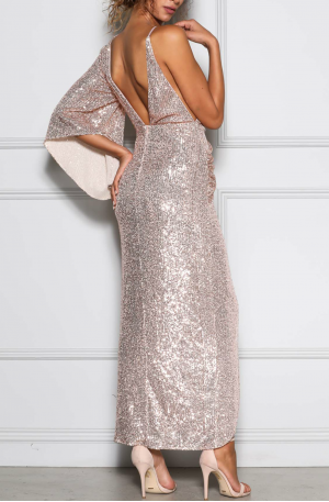 Tinley Gown – Rose Gold