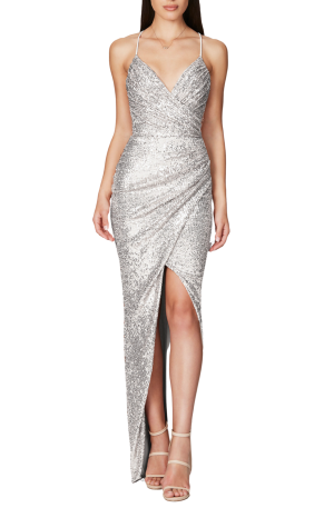 Cosmo Gown – Silver
