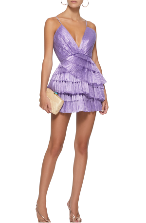 Don't Be Shy Dress - Purple