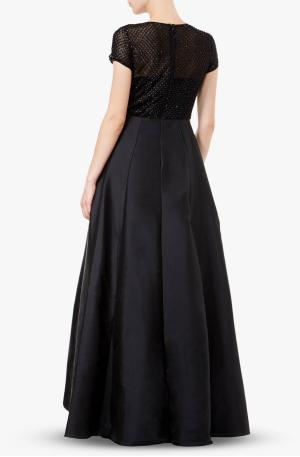 Beaded Sylvia Dress - Black