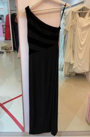 Iris Black Gown