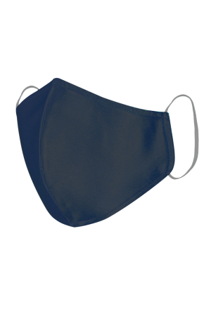Satin Silk Mask - Navy